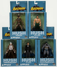 DC Direct_HUSH Series 3 figures_ALFRED_GORDON_RA'S_SCARECROW_StealthJumperBATMAN