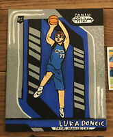 2018-19 Panini Prizm Luka Doncic Rookie Card #280 Canvas Painting (young artist)