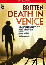 Britten: Death in Venice DVD Opus Arte Opera 2013 John Graham Hall Norental Rare