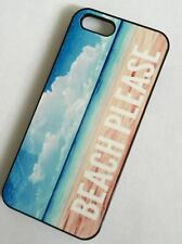 BEACH PLEASE Phone Case Compatible with iPhone models OCEAN SURF BOARD SEA SUN