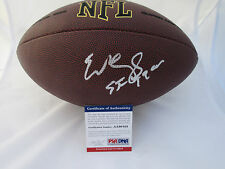 EDDIE DEBARTOLO SIGNED NFL FOOTBALL PSA/DNA COA AA90105 SAN FRANCISCO 49ERS HOF