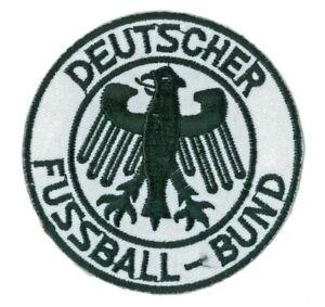 Badge Patch Football Soccer Iron-On Deutscher Fussball Bund