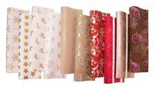 10 Rollen Weihnachtspapier Geschenkpapier Weihnachten 2m X 0 70m