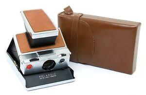✮ Polaroid SX-70 Land Camera & Tasche   // Händler!