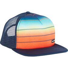 BILLABONG MENS BASEBALL CAP.NEW TRUCKER MESH SNAPBACK BLUE FLAT PEAK HAT 8S 1 60