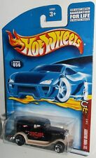 Hot Wheels 2002 #056 Wild Frontier Series #2 of 4 '32 Ford Delivery Black 3SPs
