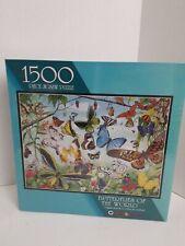 Jigsaw Puzzle Butterflies of the World 1500 pieces Peter Gerbert Artwork 1998