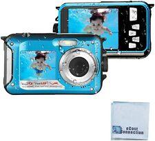 24MP Megapixel Waterproof Dual Screen Full HD 1080P Digital Camera