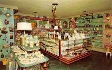 North Vernon Indiana Helens Gift Shop Interior Vintage Postcard K29085