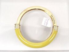 Lia Sophia Stretch Bracelet NWT Bangle M Technicolor Citron Yellow GT Sparkle RS