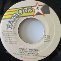 "FREDDY MCGREGOR - Reggae Christmas ~ 7"" Single JA PRESS"