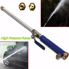 Portable Blue High Pressure Car SUV Body Washer Sprayer Cleaner Nozzle Water Gun