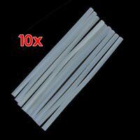 10Pcs 270mm x 11mm Hot Melt Glue Stick Clear for Electric Tool Heating Glue Gun