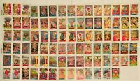 TRASH CAN TROLLS 1992 TOPPS COMPLETE BASE CARD SET OF 88 W/ 1st Series Empty Box