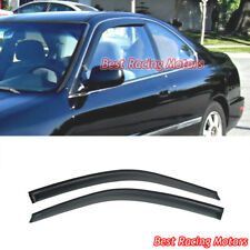 JDM Style Side Window Visors Fits 94-97 Honda Accord 2dr