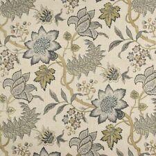 Waverly Jacobean Flair Vermeil  Home Decor Drapery Fabric  BTY x 54