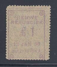 New Republic Sc 35 var, SG 46 var, MOG. 1886 £1 violet, double impression, Cert