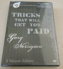 Become a PAID Magician - Tricks that will Get You Paid Gary Norsigian (2 DVDs)