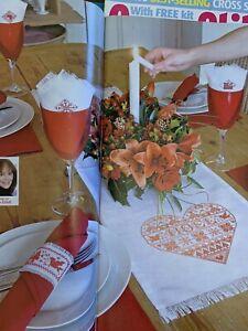 Joan Elliott Scandinavian Christmas Table Set Cross stitch charts