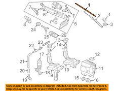 VW VOLKSWAGEN OEM 09-12 CC-Wiper Blade 3C1998002