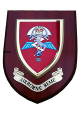 Airborne REME Military Shield Wall Plaque