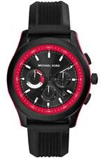 Michael Kors Outrigger Black Red Quartz Analog Men's Watch MK8376