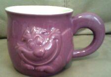 Cheshire Cat - Disney Store Ceramic Figural Mug Alice in Wonderland  Mauve