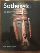 sotheby's catalogue Tribal Art Paris 2004