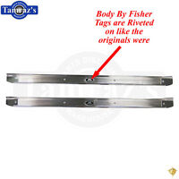 EMS DOOR SILL PLATES 71-73 MUSTANG POLISHED MS275-56P