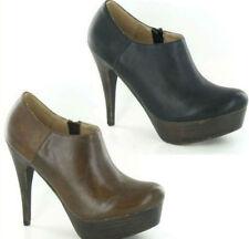 Zip Stiletto Heel Spot On Synthetic Boots for Women