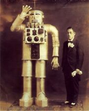Japanese Robot Art Print 8 x 10 - Japan - Steampunk - Victorian - Sci fi Surreal