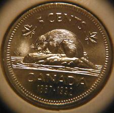 1992 Five Cents Nickel UNC