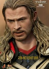 Ready! Hot Toys Sideshow Marvel Thor The Dark World 1/6 Chris Hemsworth Normal