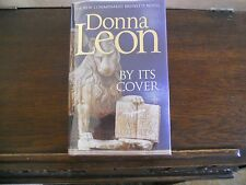 BY ITS COVER by Donna Leon, SIGNED 1st ed/1st printing UK 2014 HCDJ