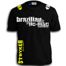 Brazilian Jiu-Jitsu Stryker Muay Thai Fighting Boxing With FREE Tapout Sticker T