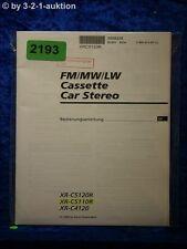 Sony Bedienungsanleitung XR C5120R /C5110R /C4120 Car Stereo (#2193)