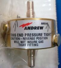 "Andrew Type 1260A 7/8"", 50 Ohm, Heavy Duty Gas Barrier"