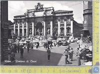 ROMA - Fontana di Trevi - 1965 - Cartolina - Postcard - Viagg. - Circ.
