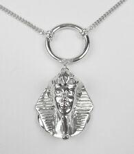 Tut ench Amun Anhänger mit Kette 925er Silber 45,0 cm