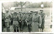 1941 Militari Alla Messa Da Campo Lubiana Territori Sloveni Occupati FP B/N VG