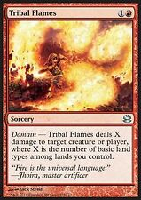 MRM ENGLISH 4x Flammes tribales - tribal flames MTG magic MM1