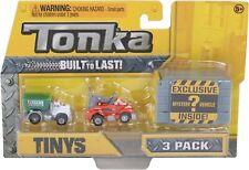 Tonka 59000 Or 59002 Tinys 3 Pack - Construction/Urban