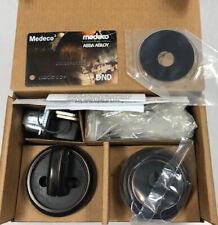 Medeco Maxum Deadbolt DL Residential Single Cylinder 2-3/8″ Backset 2-Keys
