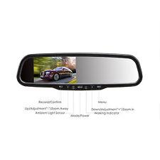 In Car Rear View Mirror Monitor G-sensor FHD 1080P Dashboard Camera + 32G Card