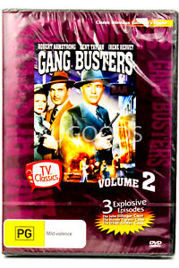 Gang Busters Volume 2 - DVD Series Rare Aus Stock New Region 4