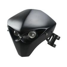 Motorrad Schädel 12V LED Scheinwerfer Verkleidung Scheinwerfer Lampe Für Suzuki