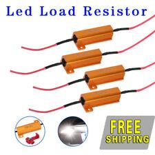 4PCS  50W 6ohm Load Resistors Tail Brake Reverse SignalFix Hyper Flash LED Light