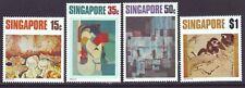 Singapore 1972 SC 153-156 MNH Set Art
