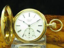 A. Lange & Söhne 18kt 750 Oro Savonette Orologio da Tasca Qualità 1A / Calibro
