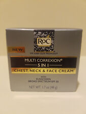 RoC Multi Correxion 5 in 1 Chest Neck & Face Cream With SPF 30 1.7 oz
